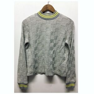 Postage Stamp | Warm Fitted Sweater W Short T-Neck